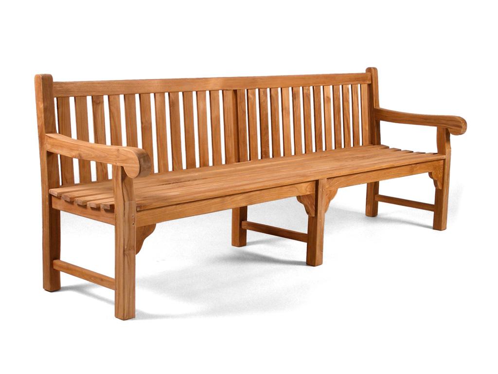 teak benches  teak garden furniture - granchester  ft heavy duty teak bench
