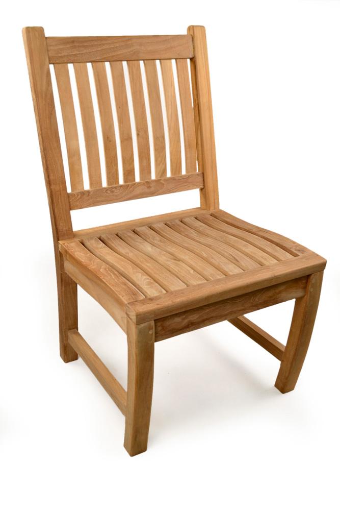 Kensington Teak Side Chair Grade A Teak Furniture