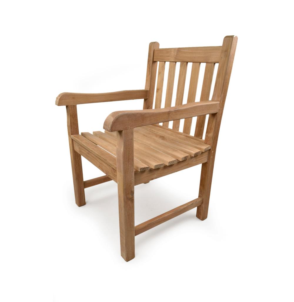 sandringham teak arm chair grade a teak furniture