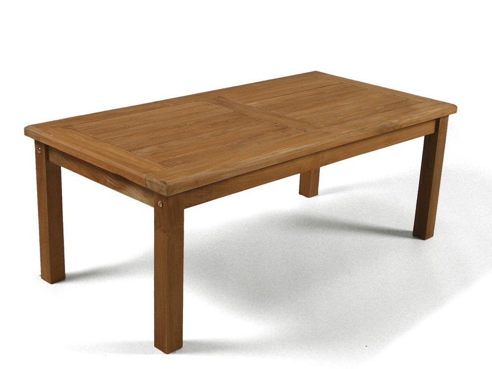 Rectangular Teak Coffee Garden Table