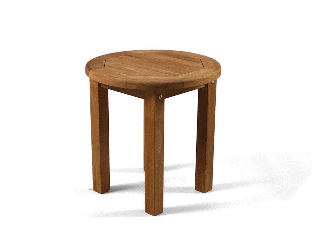 Round Coffee Teak Garden Table