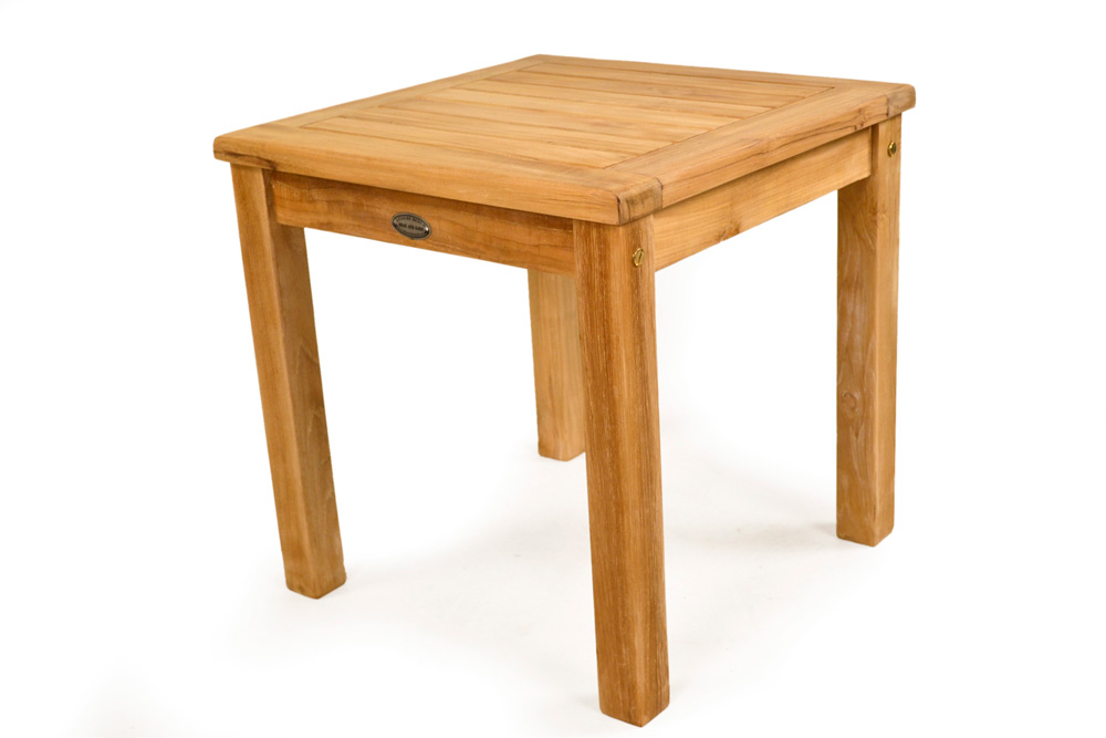 square teak coffee garden table