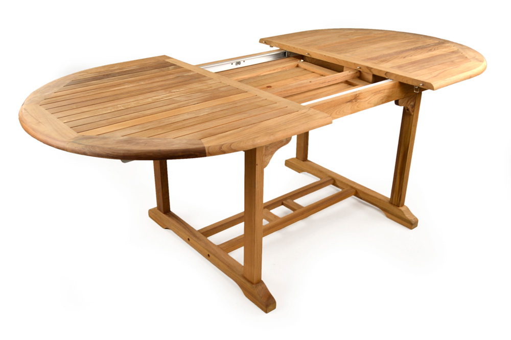 Westminster 6 8 seater teak garden table for Teak outdoor furniture